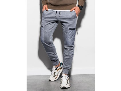 eng pl Mens sweatpants P917 grey melange 16758 1