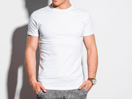 eng pl Mens plain t shirt S1370 white 18527 3