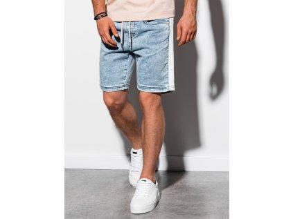 eng pl Mens denim shorts W221 light jeans 15203 1