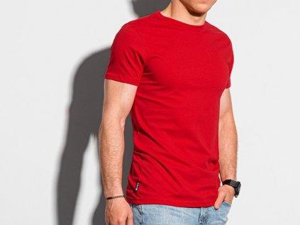 eng pl Mens plain t shirt S1370 red 19625 2