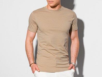 eng pl Mens plain t shirt S1370 beige 19628 1