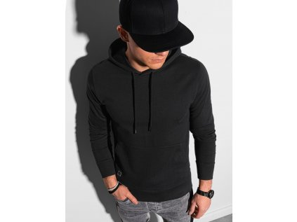 eng pl Mens hooded sweatshirt B1154 black 19249 1