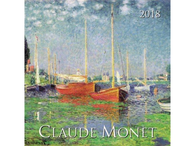 Nastenny kalendar Joso Claude Monet OB 330x330 2018