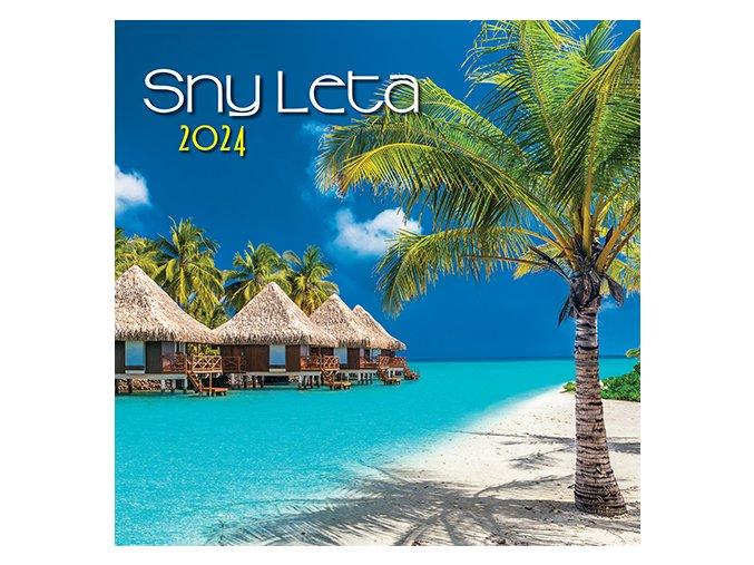 Nastenny kalendar Joso Caro Zahrad OB SK 485x340