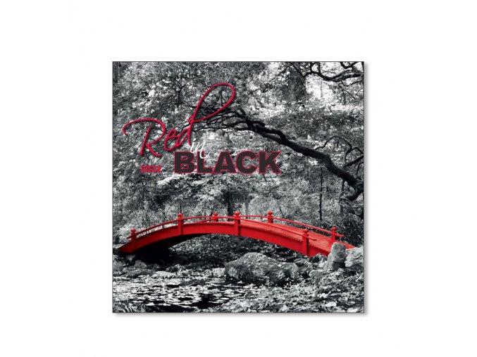 Nastenny kalendar Joso Red in Black OB 560x420 2018