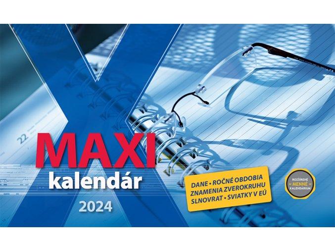 Maxi kalendar OB SK 297x180