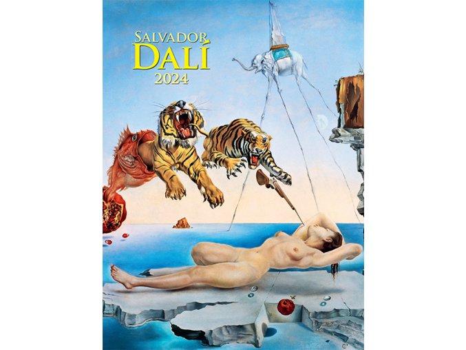 Nastenny kalendar Joso Salvador Dali OB 420x560 2018