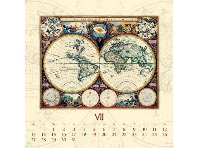 Nastenny kalendar Joso Ant map 2018 OB KAT UNI
