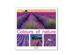Nastenny kalendar Joso Colours of Nature OB
