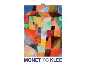 Nastenny kalendar Joso Monet to Klee OB UNI 420x560