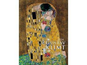 Nastenny kalendar Joso Gustav Klimt OB 420x560 GOLD N