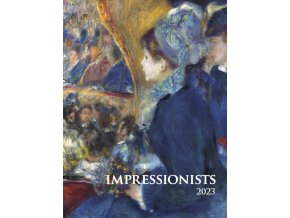 Nastenny kalendar Joso Impressionists OB UNI 420x560