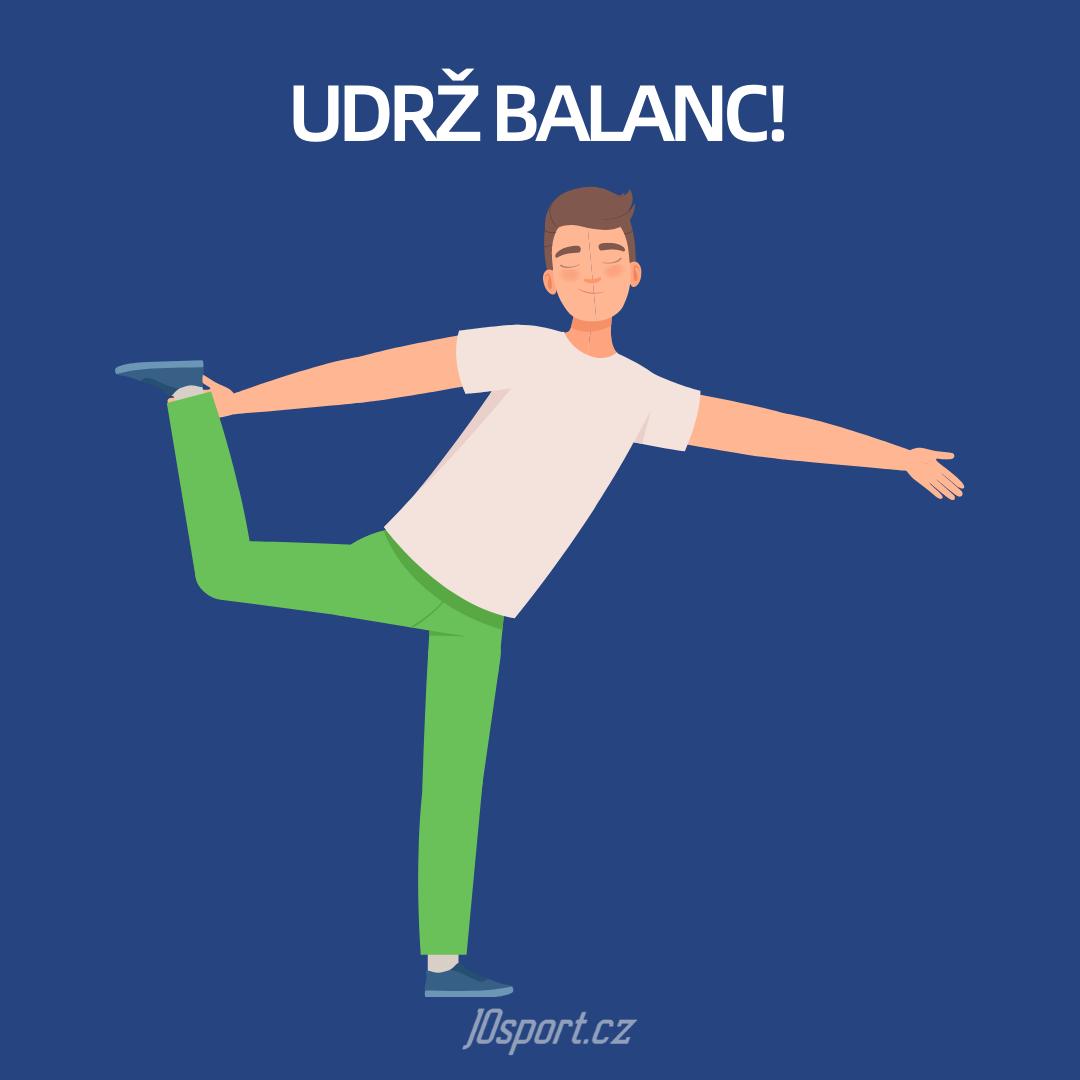 Udrž balanc! Jak si zlepšit rovnováhu?
