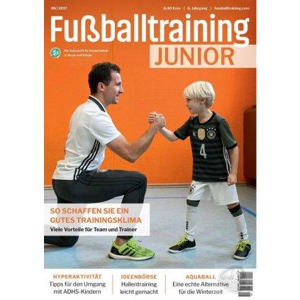 Časopis Fussball Training JUNIOR - roční předplatné