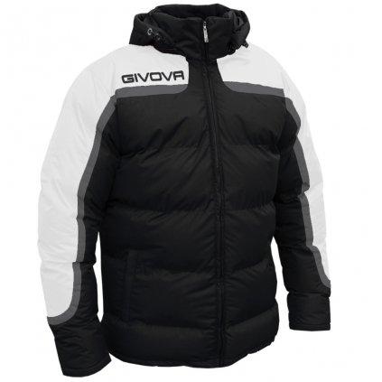 zimní bunda givova antartide černá-bílá XS