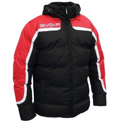 zimní bunda givova antartide černá-červená XS