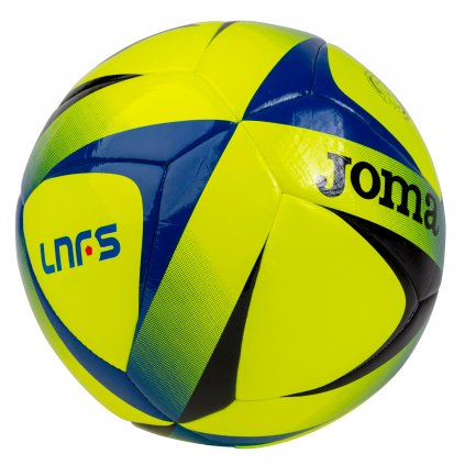Futsalový míč Joma LNFS BALL FLUOR ŽLUTÁ-ČERNÁ-MODRÁ