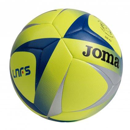 Futsalový míč Joma LNFS BALL FLUOR ŽLUTÁ-STŘÍBRNÁ-MODRÁ
