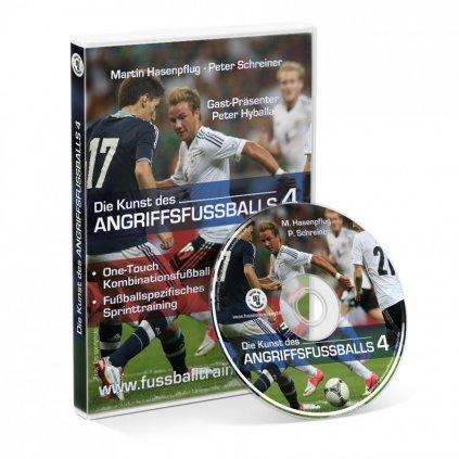 DVD: Umění útočného fotbalu - 4. díl