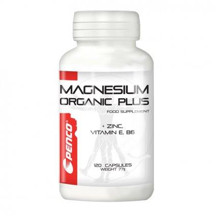 PENCO Organický hořčík MAGNESIUM ORGANIC   120 tobolek