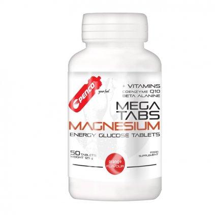 PENCO Hořčíkové tablety MEGA TABS MAGNESIUM   50 cucavých tablet