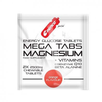PENCO Hořčíkové tablety MEGA TABS MAGNESIUM | 2 ks cucavá tableta