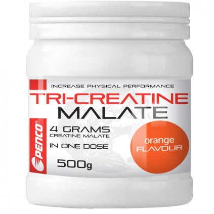 PENCO Kreatin nápoj TRICREATIN MALÁT | 500g |  Pomeranč