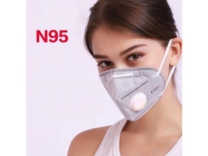 Respirátor KN95 maska
