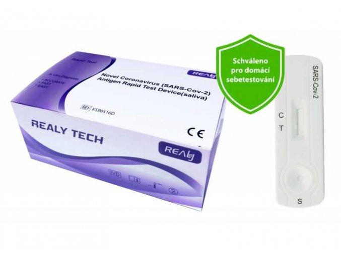 hangzhou realy novel coronavirus sars cov 2 antigen rapid test device saliva 20 ks original