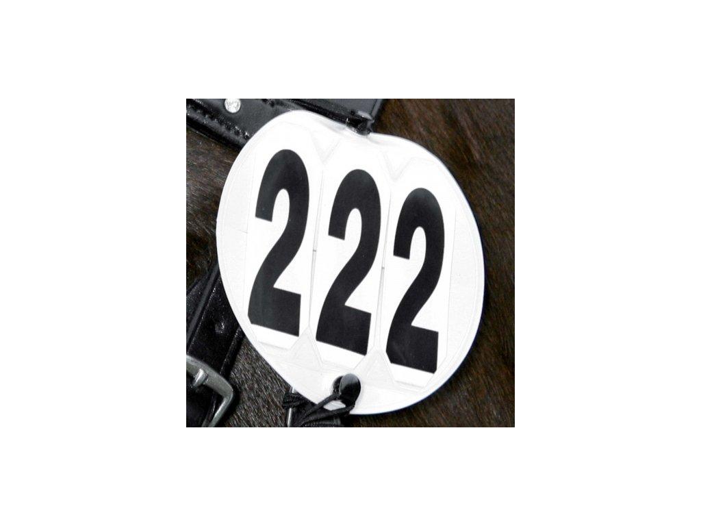 Čísla závodní - kulatá