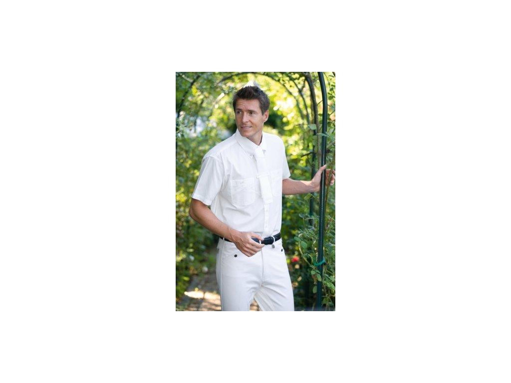 Košile bílá sportovní pánská či chlapecká