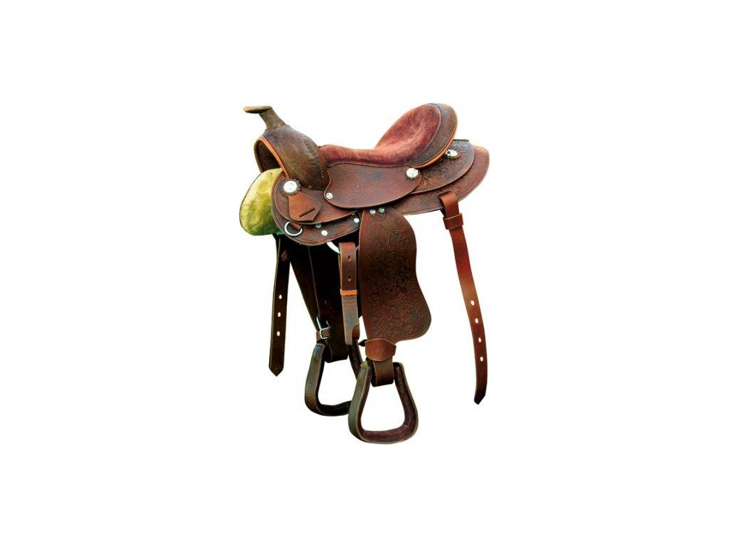 Westernové sedlo RANDOL'S Topeka (pony)