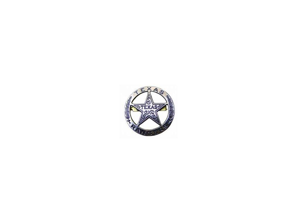 Odznak Texas Ranger  4 cm