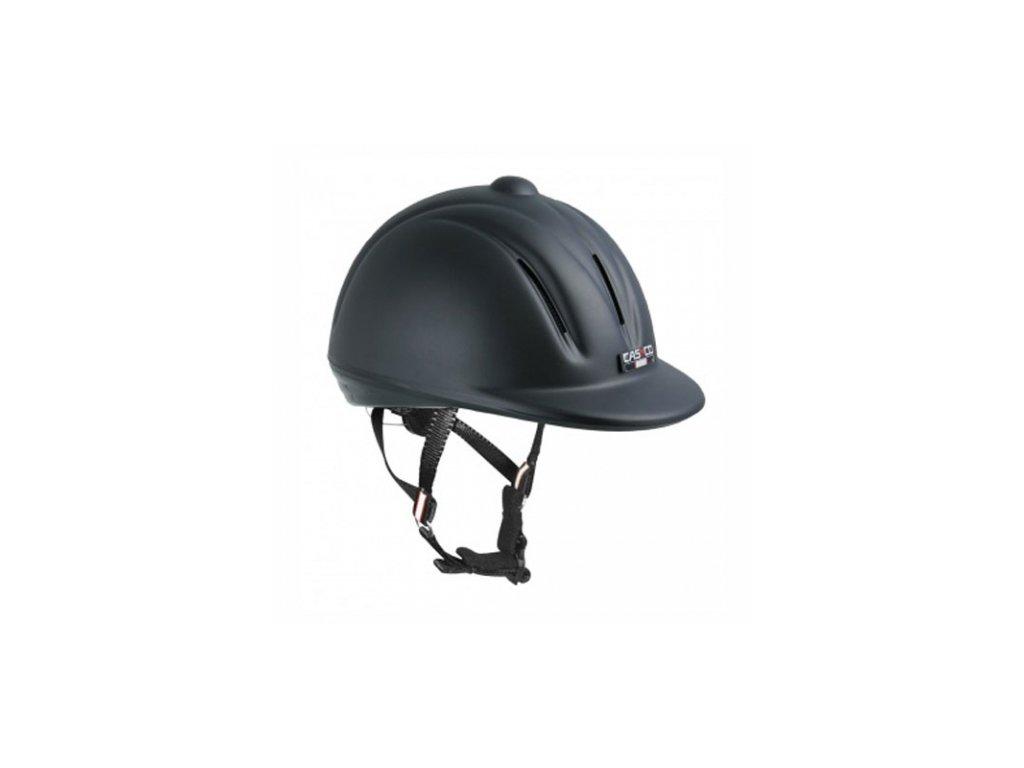 Jezdecká helma Casco Youngster černá matný