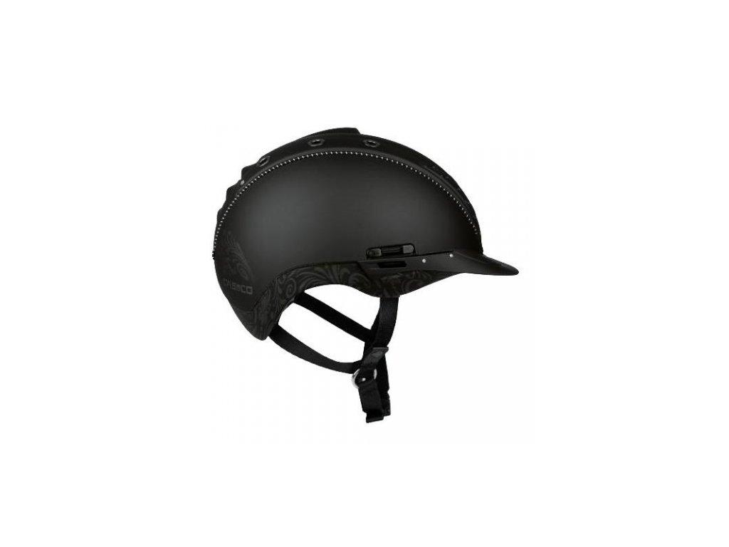 Jezdecká helma CASCO Mistrall 2 floral- VG01