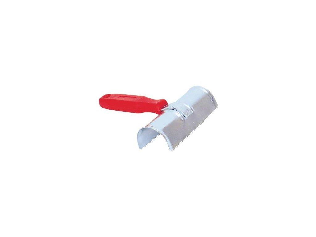 Hřbílko kovové dvouřadé pro skot