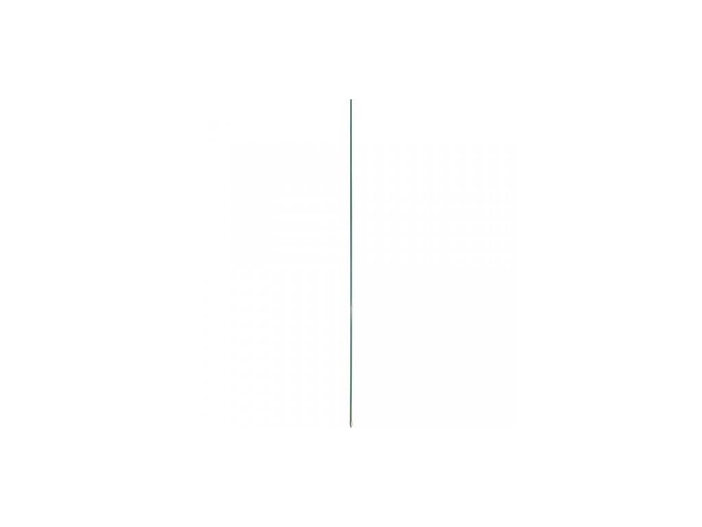Tyčka pro elektrické ohradníky sklolaminátová s kovovou špičkou, průměr 10 mm / 120 cm