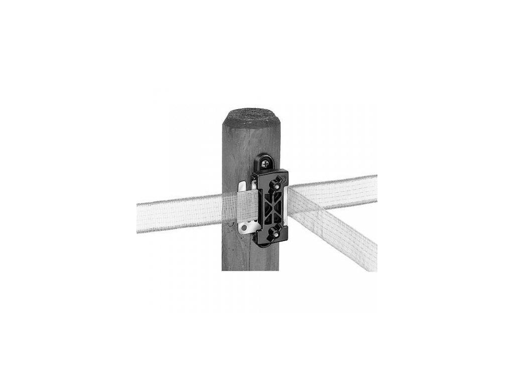 Izolátor pro elektrické ohradníky WI 5000 k pásce do 40 mm, průběžný - PROFI