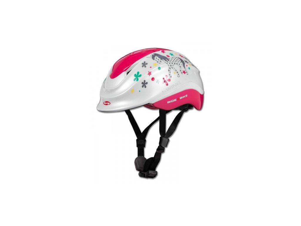 Jezdecká helma Swing K4, Unicorn