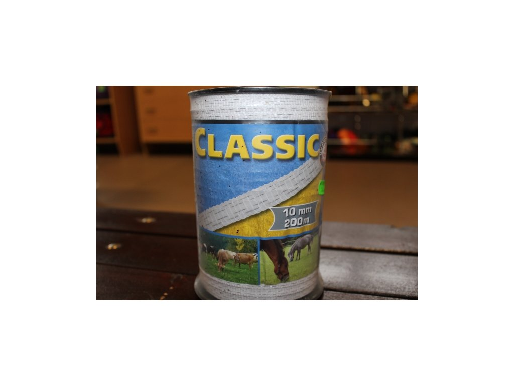 Páska Classic 10 mm / 200 m