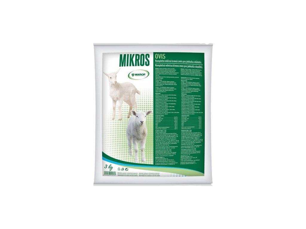 MIKROS OVIS 3 kg - sušené mléko