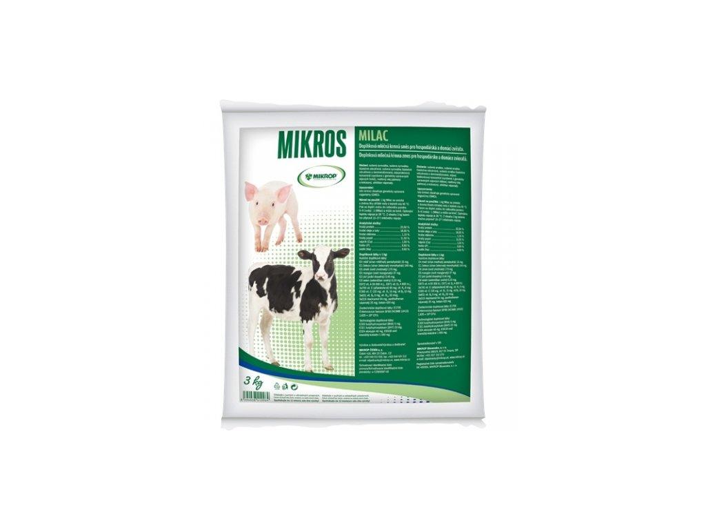 MIKROS MILAC 3 kg -sušené mléko