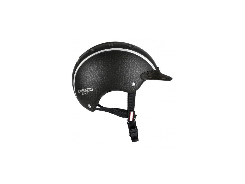 Jezdecká helma Casco Choice NEW (52-56 cm), černá