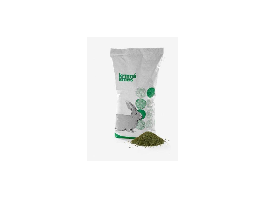 Směs pro králíky KKV ROBENIDIN GMO FREE - 25 kg