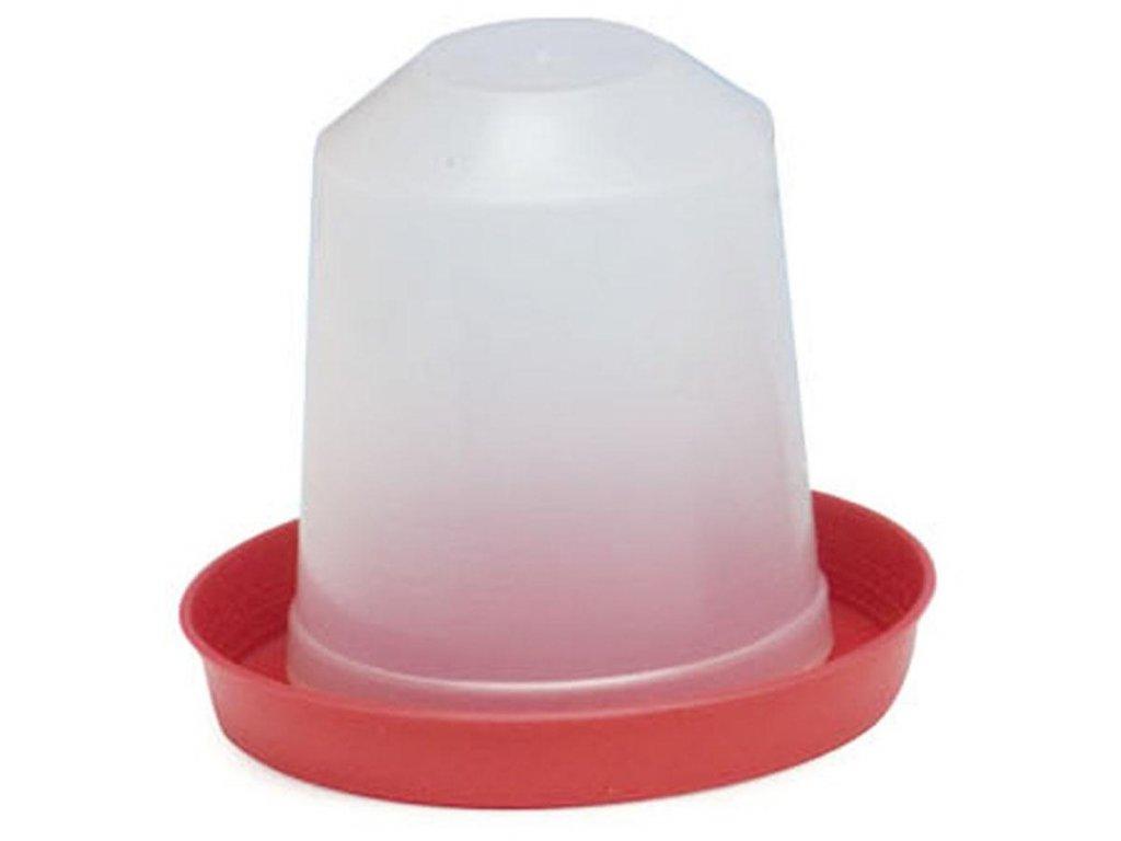 napajecka pro drubez plastova kloboukova 15 l