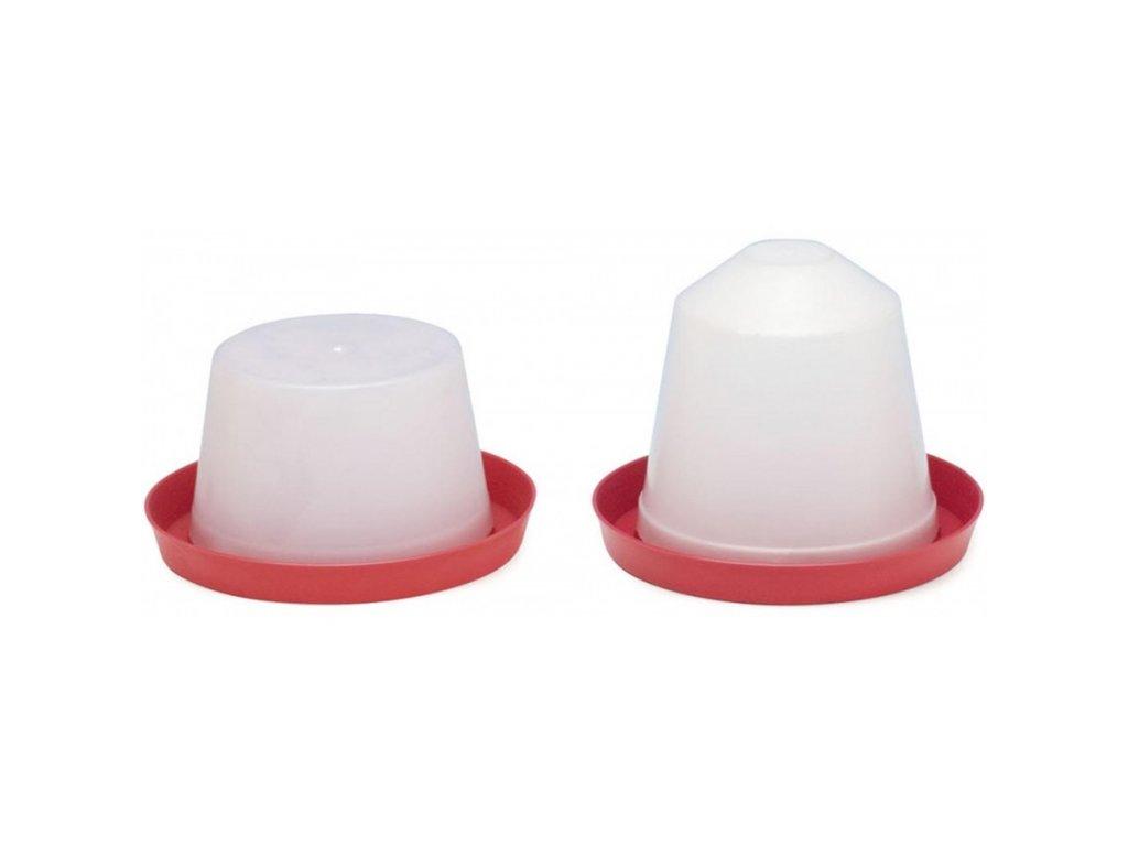 napajecka pro drubez plastova kloboukova 3 l