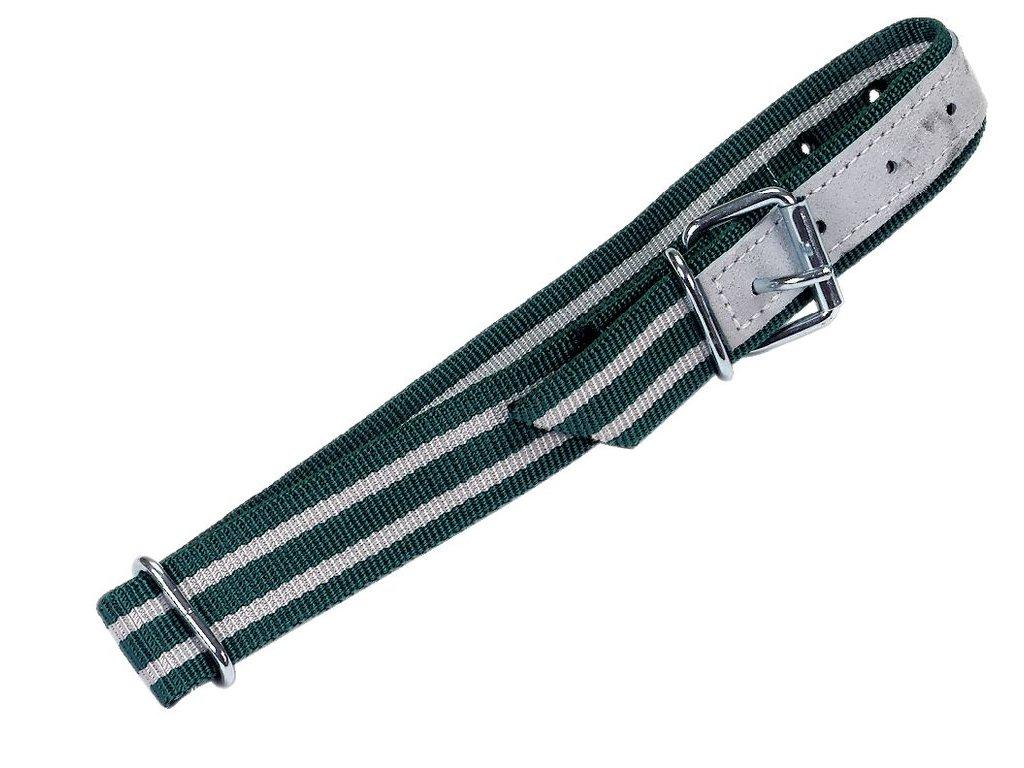 Obojek zeleno-bílý  100 x 4 cm