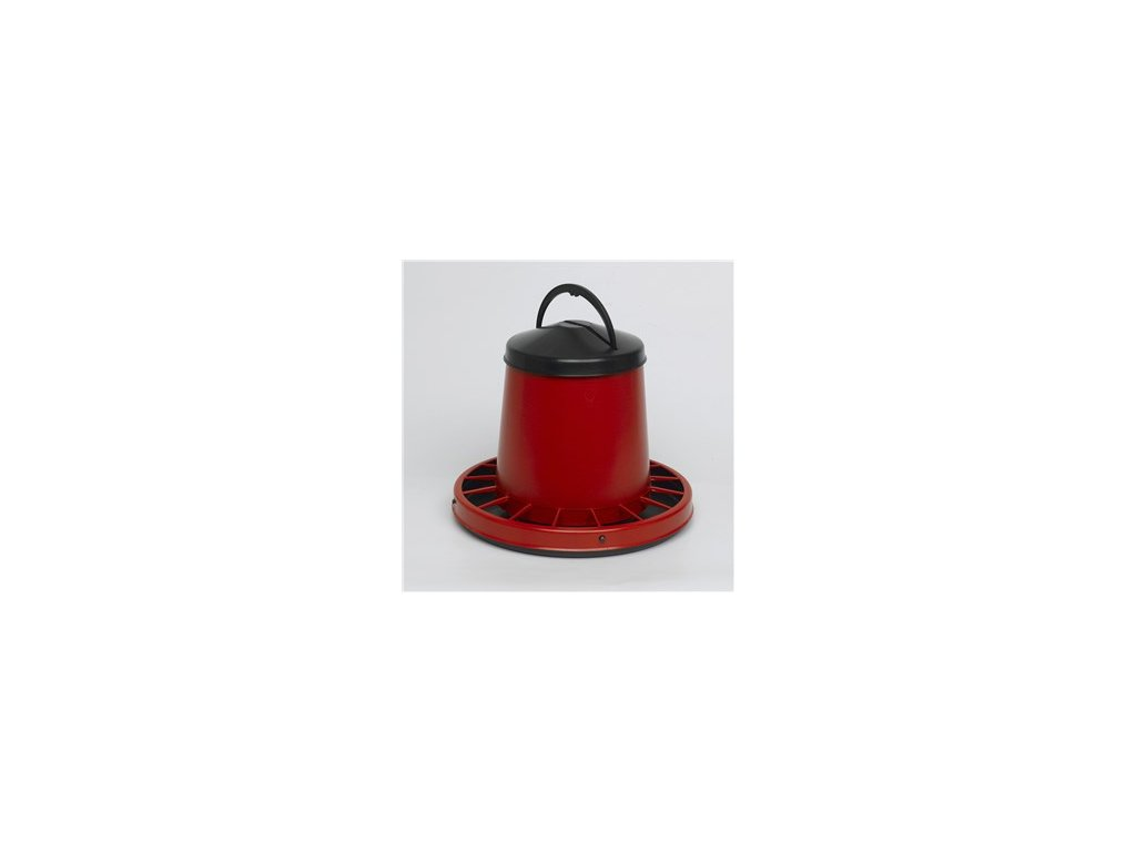 Tubusove krmitko s vikem cervene 3 kg a6965489 11193