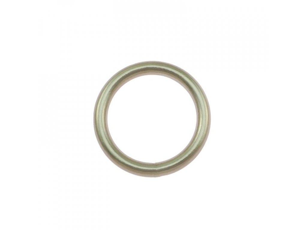 steel welded ring nickel plated 280 l
