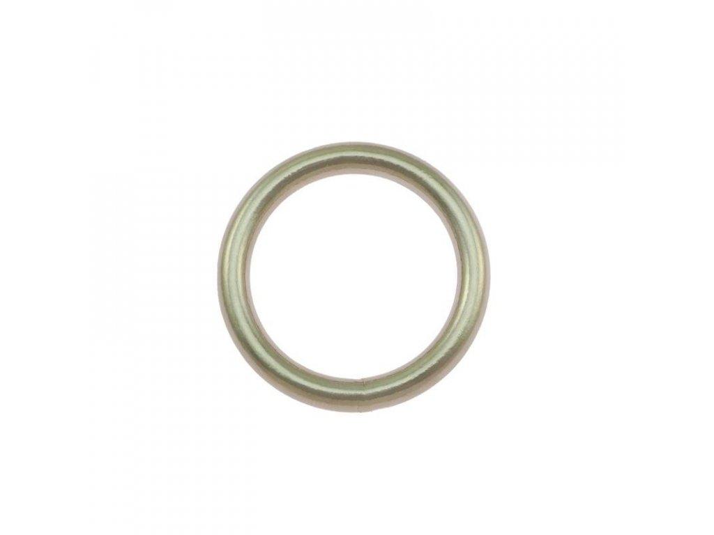 steel welded ring nickel plated 280 l